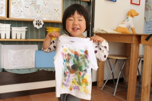 子供のラクガキアート