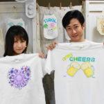 カップルさんが作った手描きTシャツ