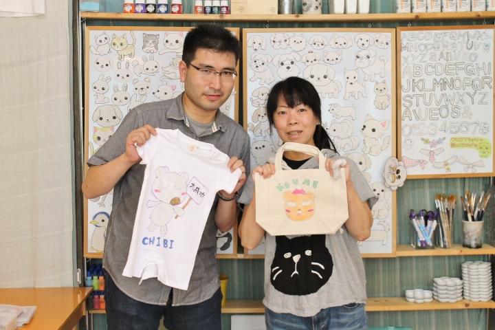 プレパパプレママが作る赤ちゃんへのファーストTシャツ