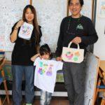 家族の手描きTシャツたち