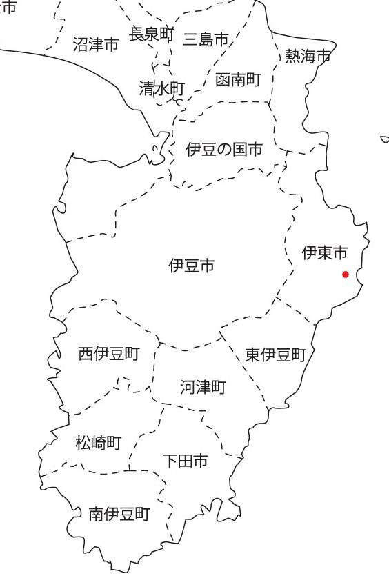 チロル所在地広域地図