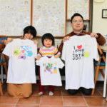 家族で作った手描きTシャツ
