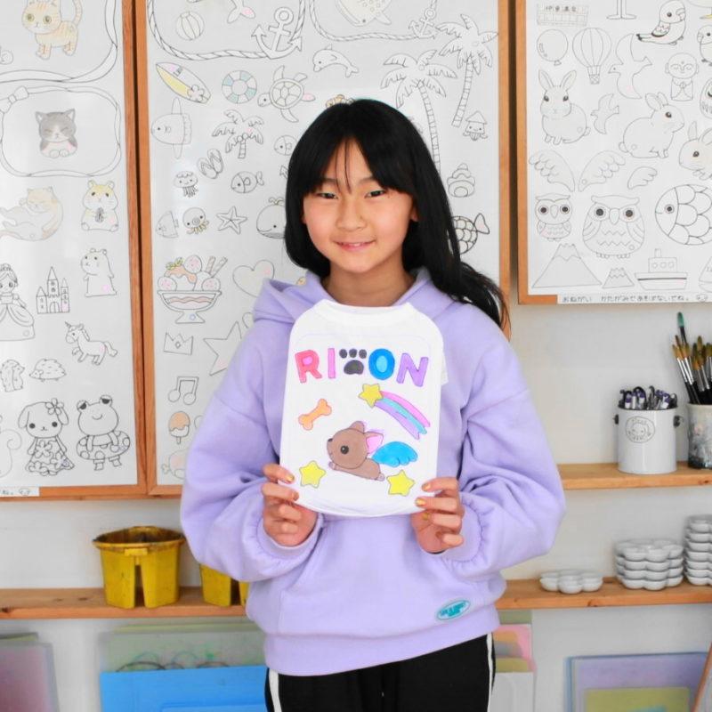チワワRIONくんの手描きワンコTシャツ